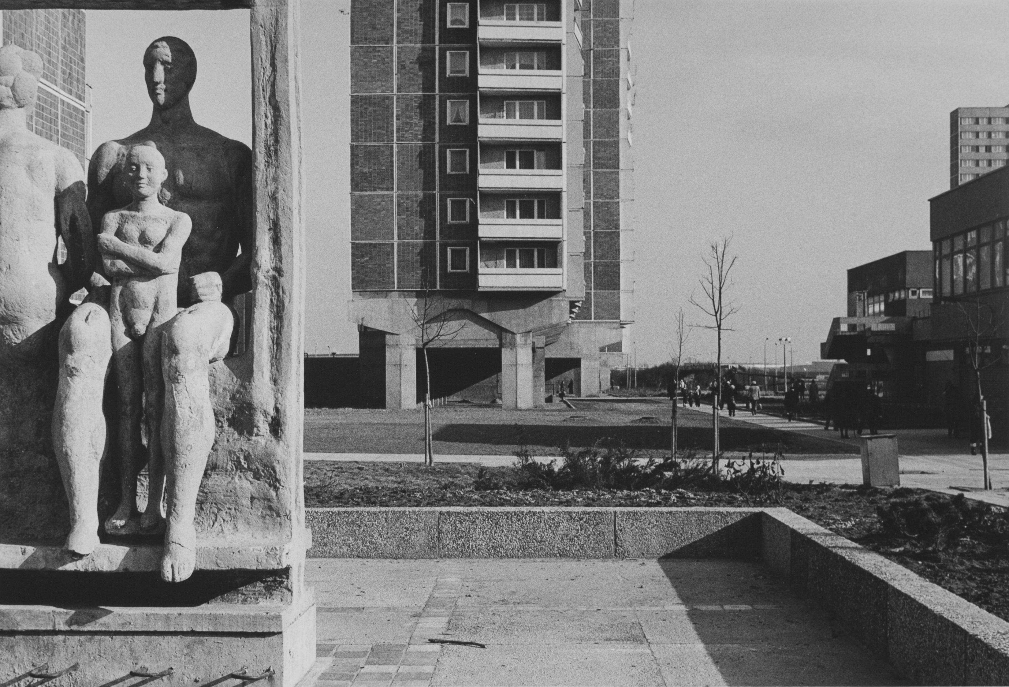 """aus der Serie """"Stadtbilder"""", 1979 - 1983. © Ulrich Wüst"""