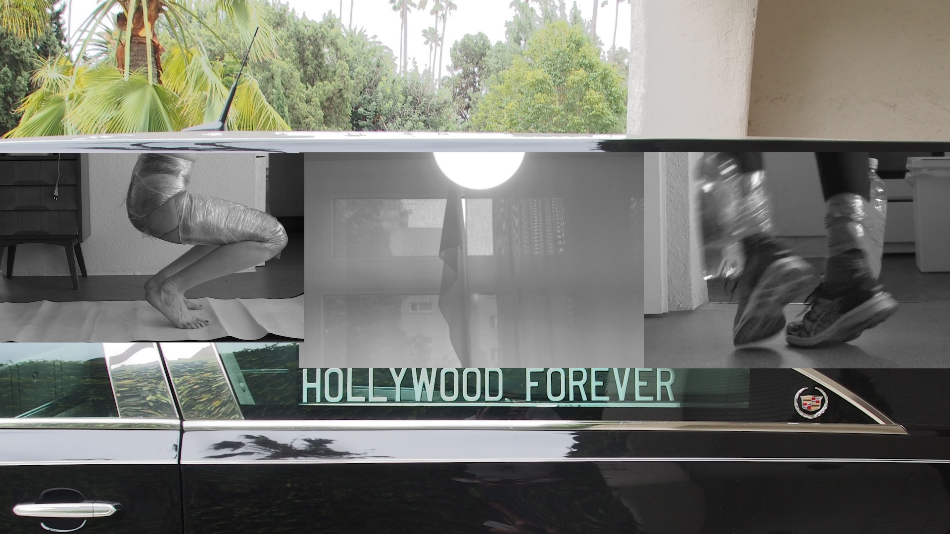 Luise Marchand: Happy End, Videostill (2017/1018). Video, 3.48 Min, im Loop plus Text. Courtesy die Künstlerin