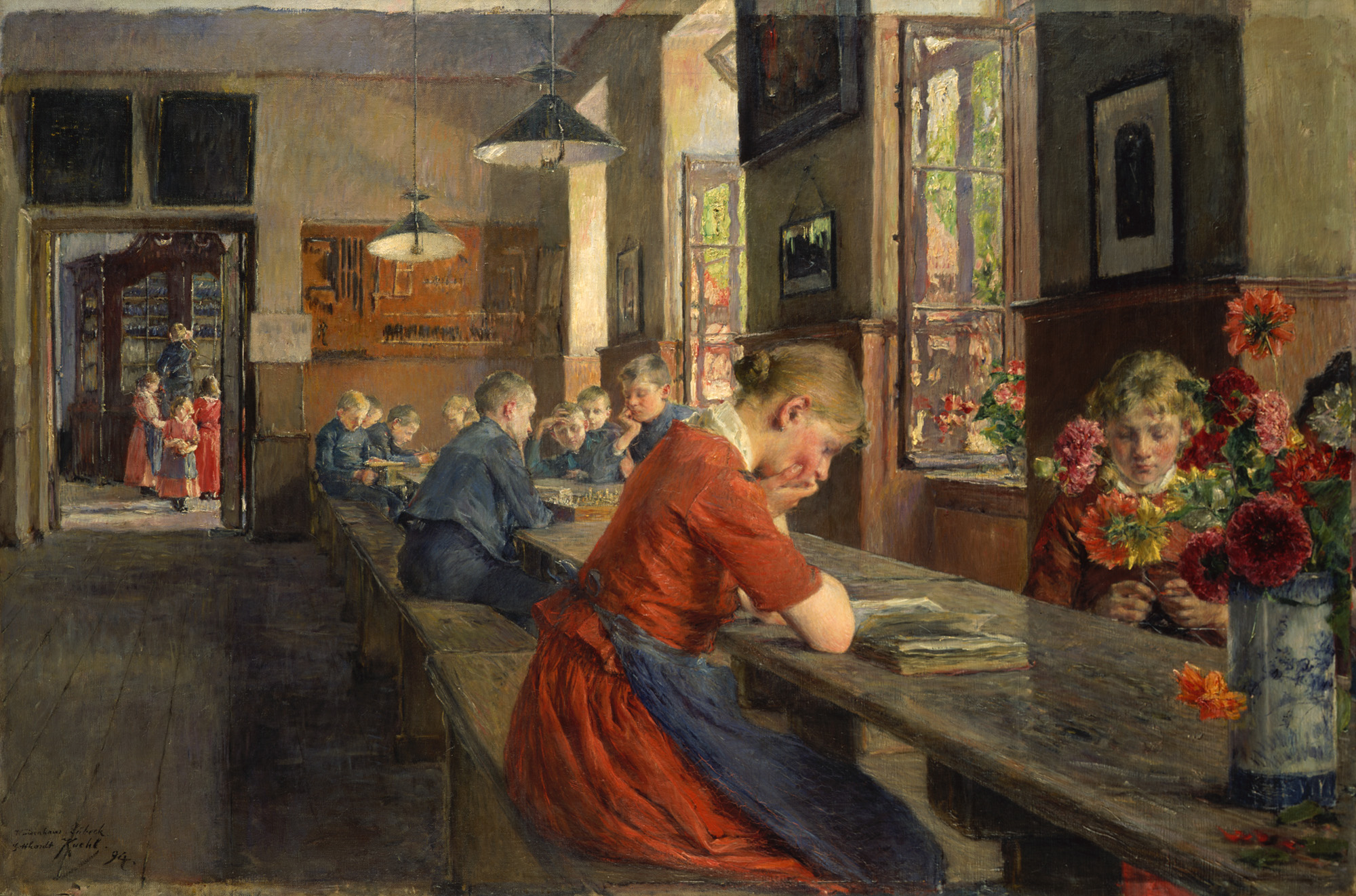 Gotthardt Kuehl: Lübecker Waisenhaus, 1894; Copyright: Lübecker Museen
