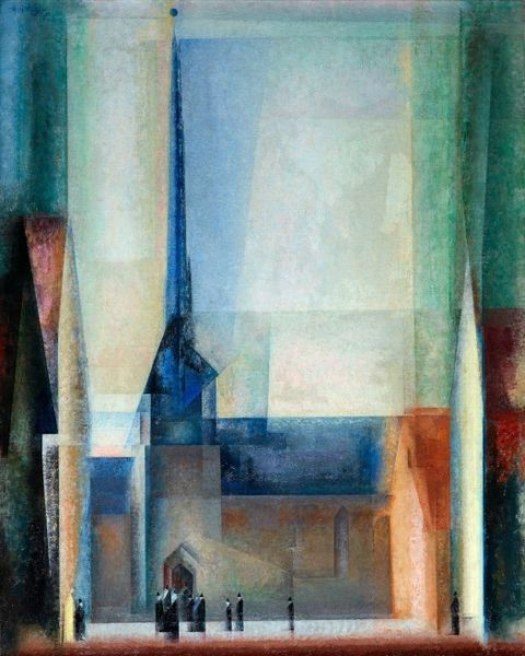 Lyonel Feininger, Gelmeroda IX, 1926, Museum Folkwang, Essen, © VG Bild-Kunst, Bonn 2019.