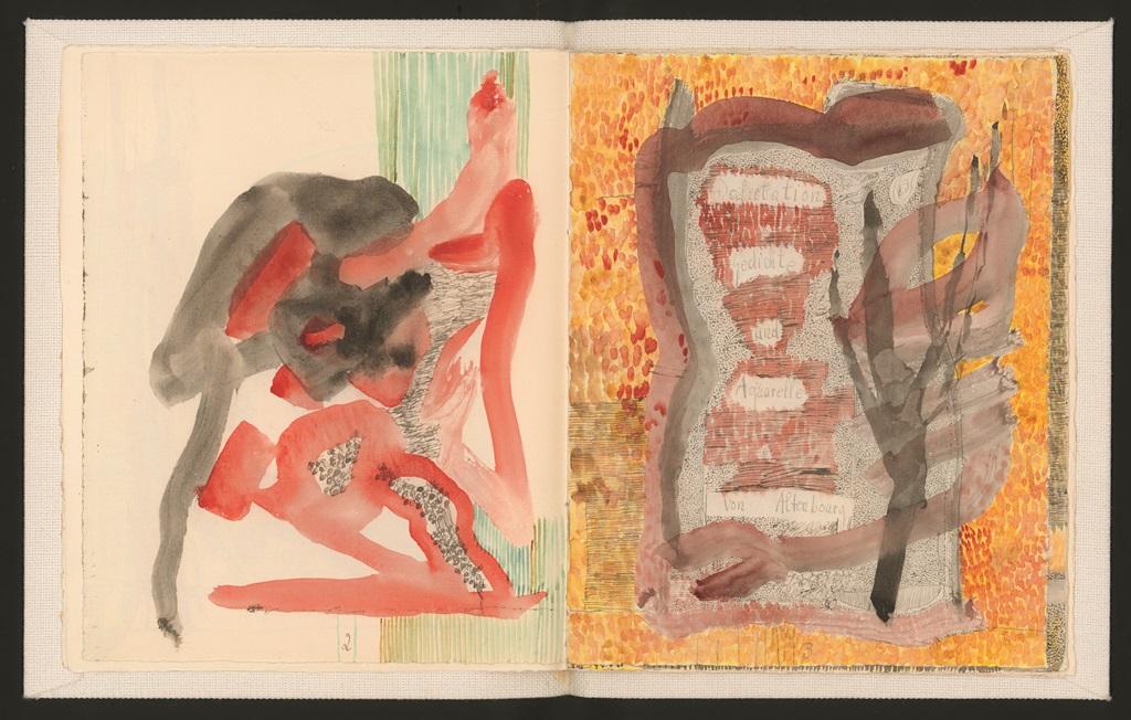 Gerhard Altenbourg. Salutation, Seite 2-3.