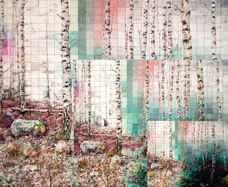 picture-picture, 2018, O?l auf Leinwand, 185 x 225 cm (© e.artis contemporary)