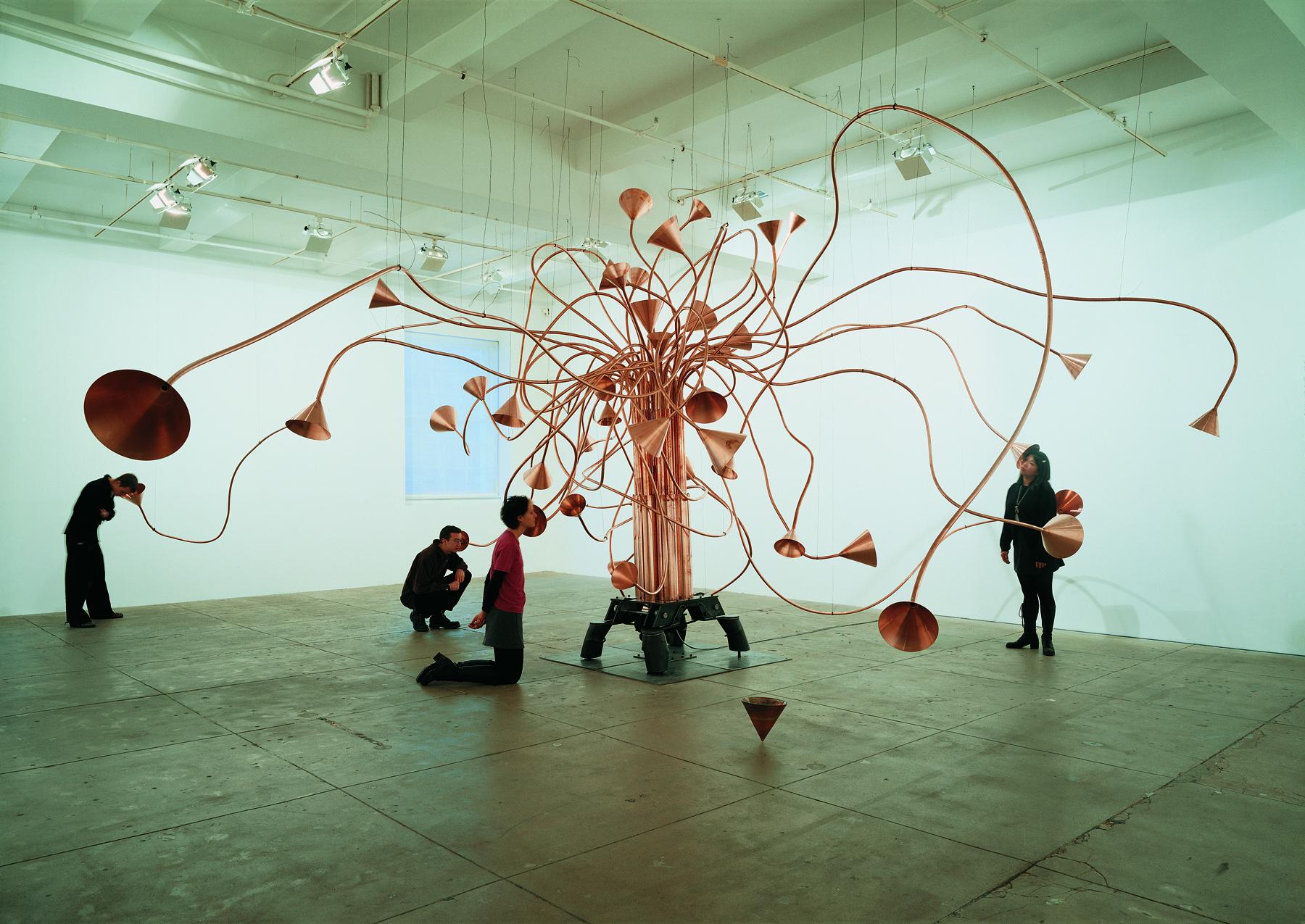Rebecca Horn, Schildkrötenseufzerbaum, 1994, (c) VG Bild-Kunst, Bonn 2017, Foto Attilio Maranzano