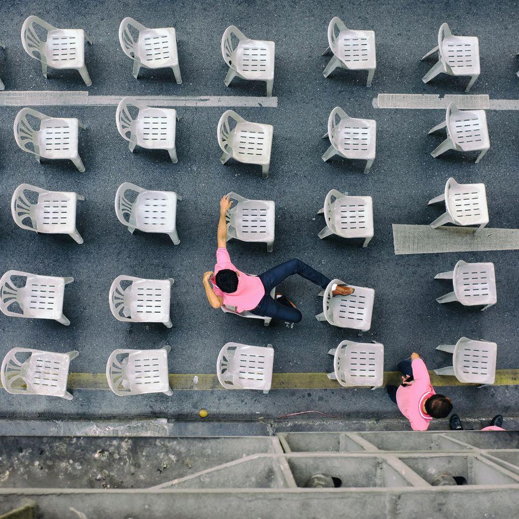40 Monoblocs. Foto: Jürgen Lindemann. Vitra Design Museum