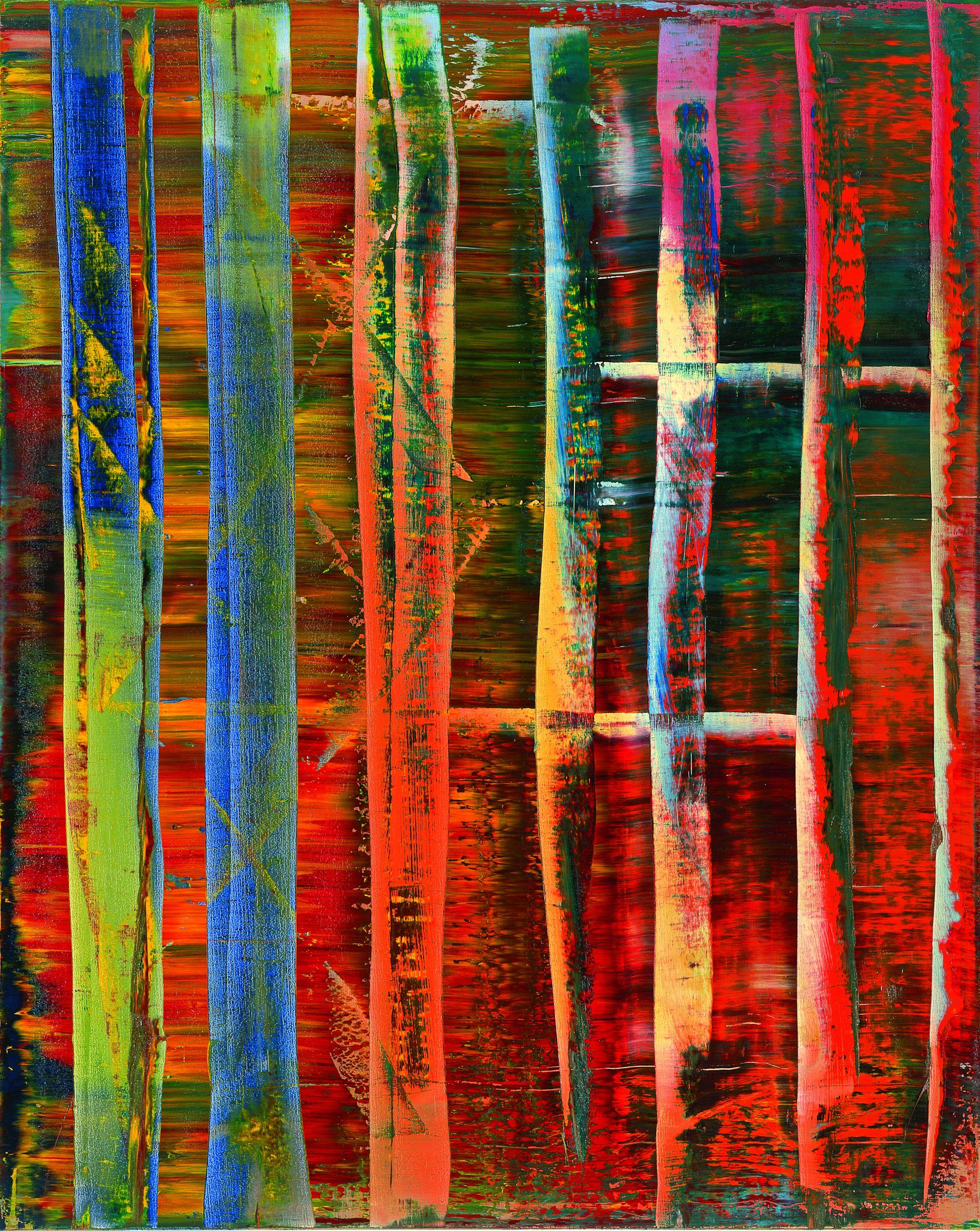 Gerhard Richter, Abstraktes Bild, 1992; Museum Frieder Burda, Baden-Baden © Gerhard Richter, 2015; Foto: Volker Naumann, Schönaich