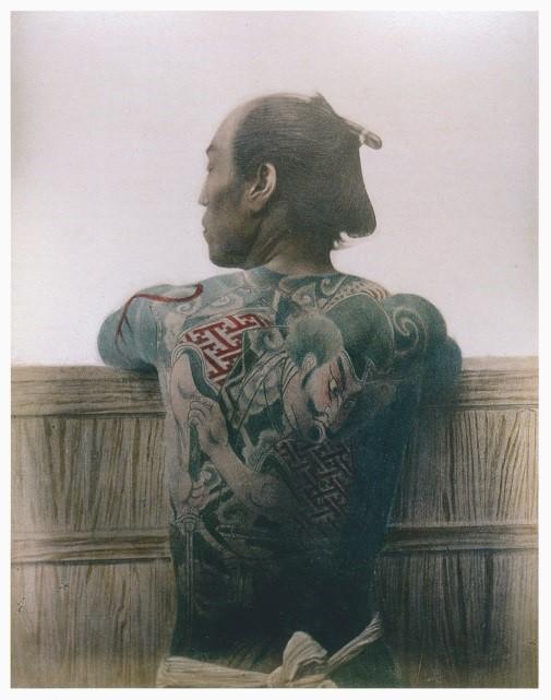 Kusakabe Kinbei, Tattoo, © Museum Angewandte Kunst