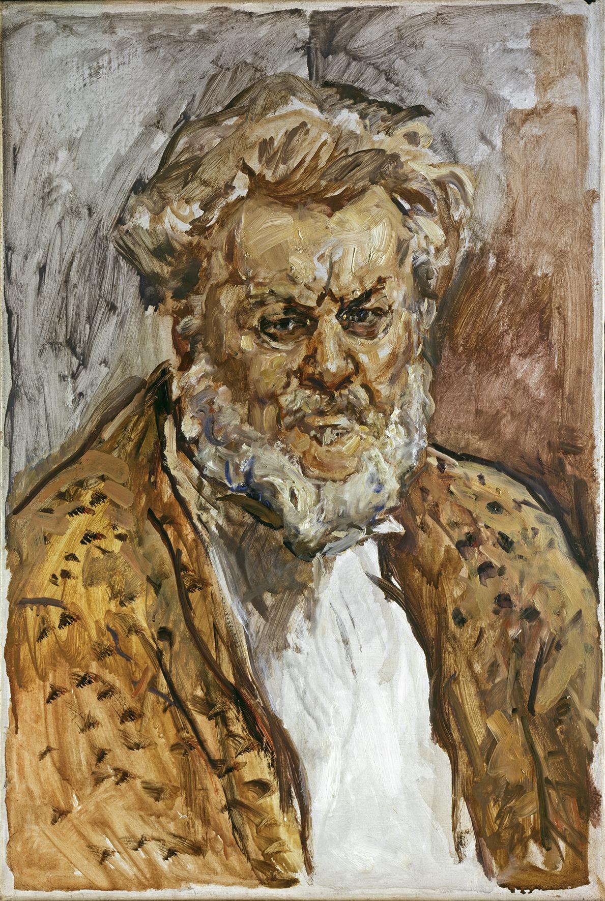 Max Slevogt: Selbstbildnis, um 1931. Copyright Landesmuseum Hannover
