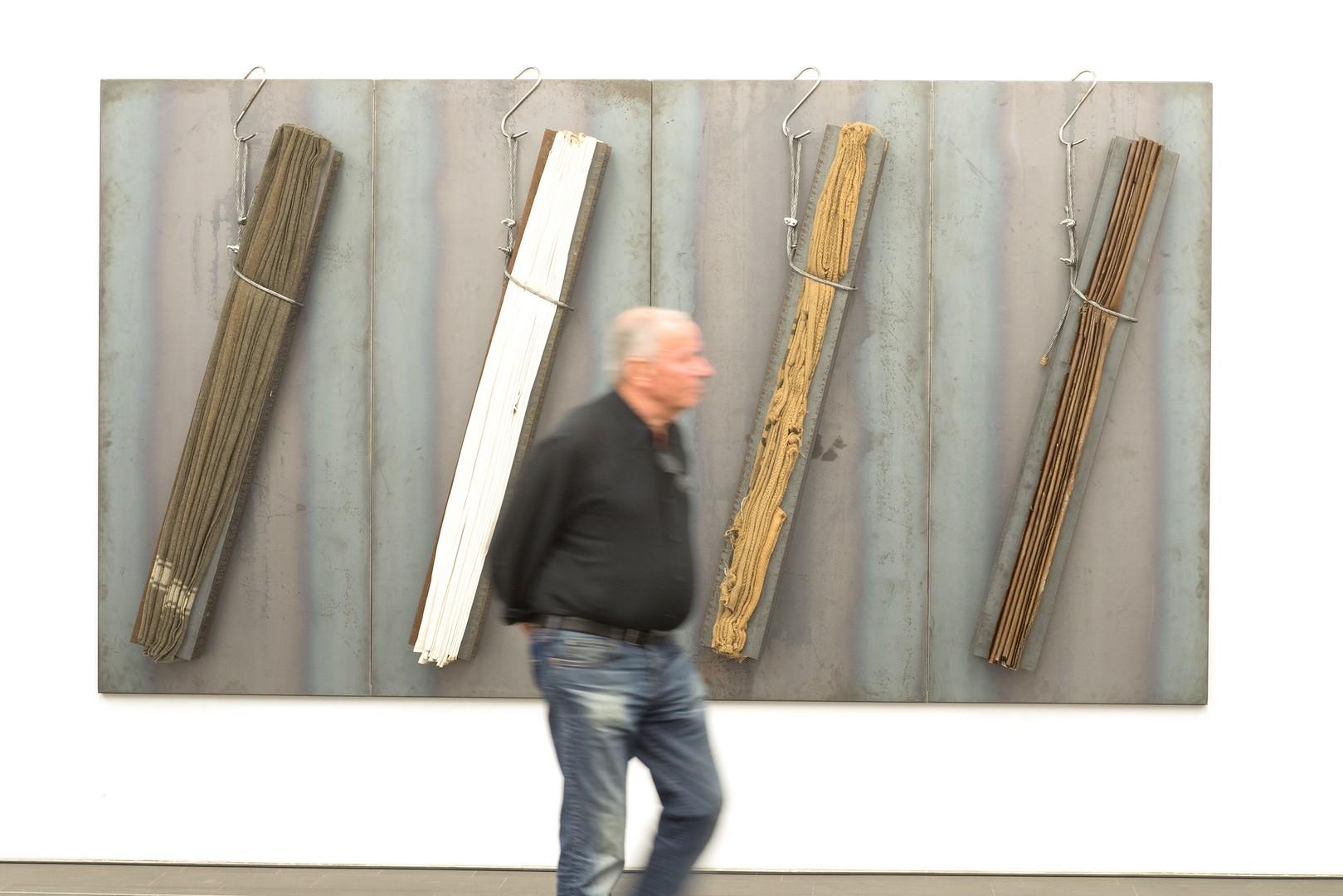 Jannis Kounellis, Ohne Titel, 1999, Sammlung Siegfried und Jutta Weishaupt, © VG Bild-Kunst, Bonn 2018, Foto: Georg Lukas