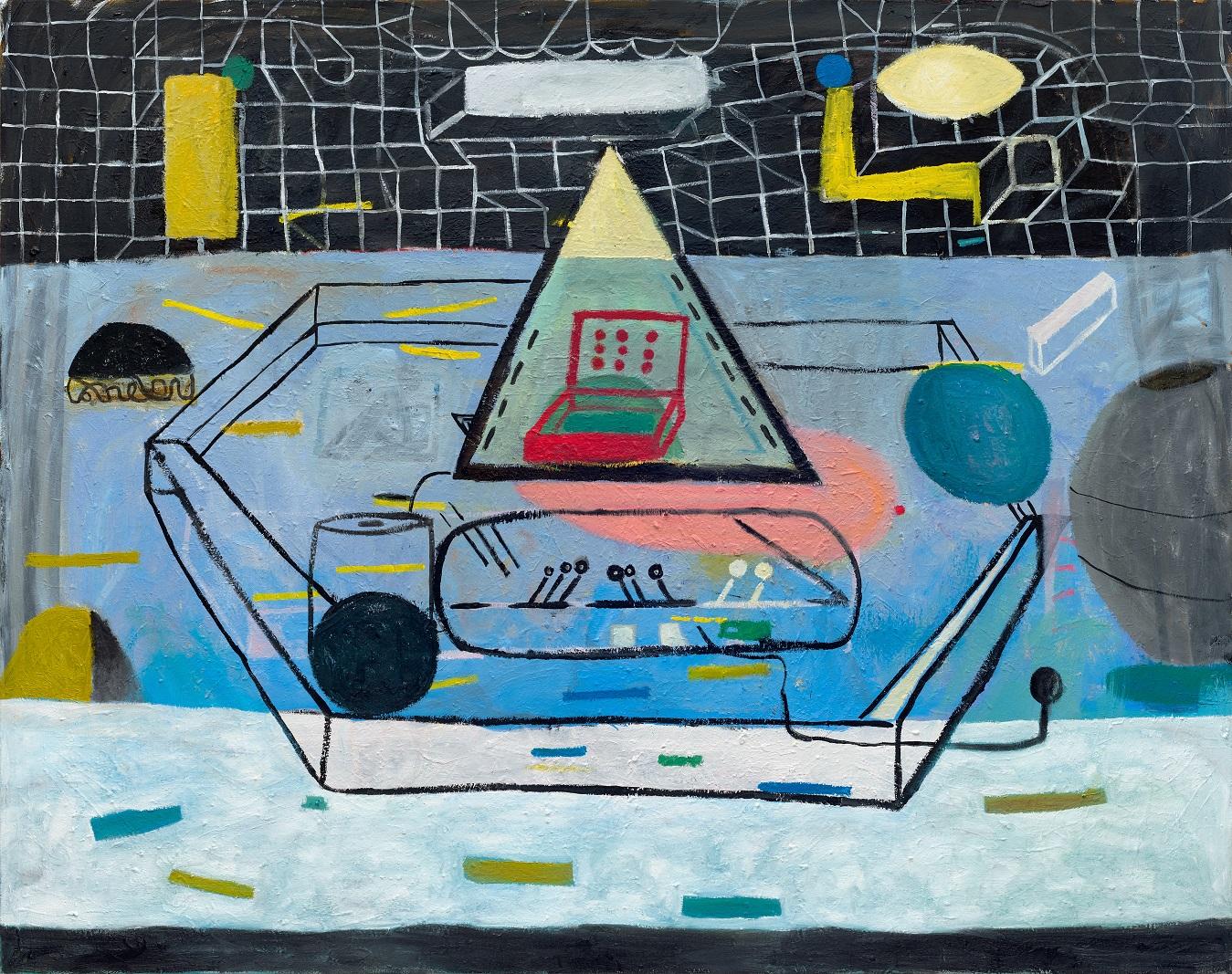 Tobias Hild: No, No, 2015, Öl auf Leinwand, 190 x 240 cm. Foto: Tobias Hild