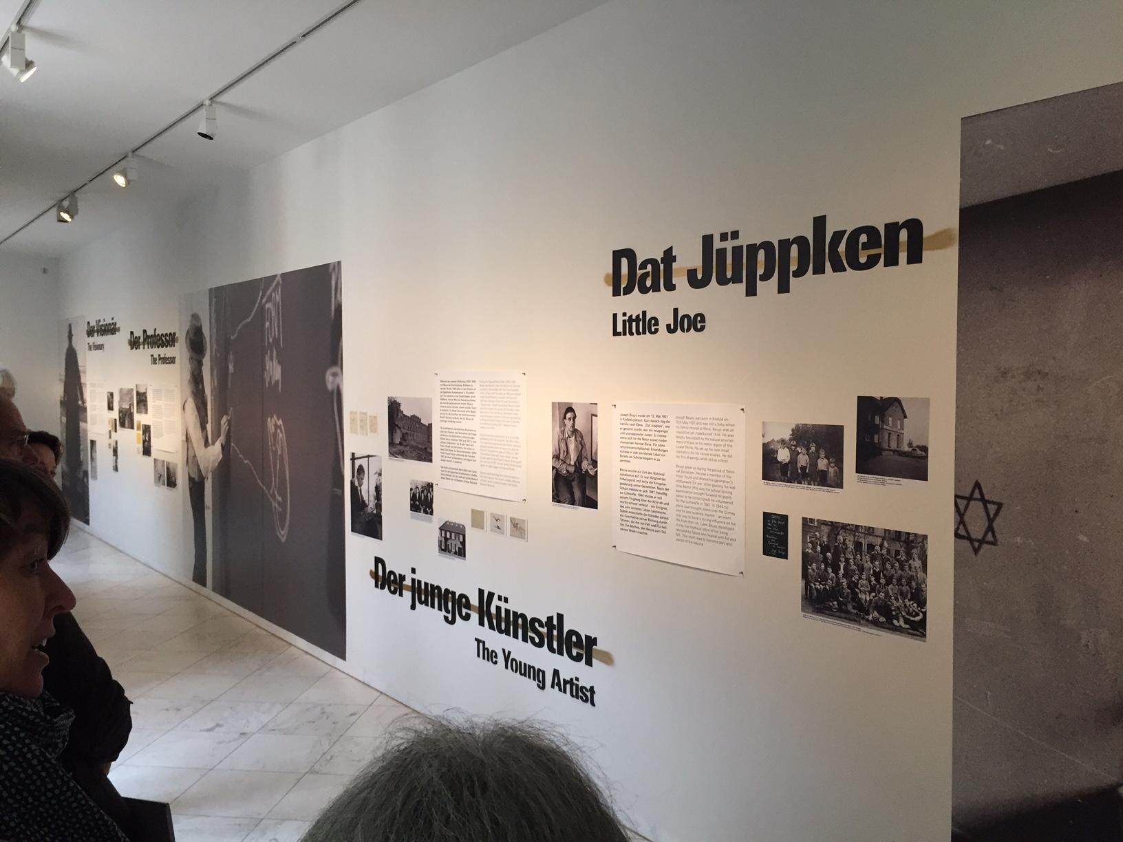 Ausstellungsansicht im Museum Schloss Moyland.
