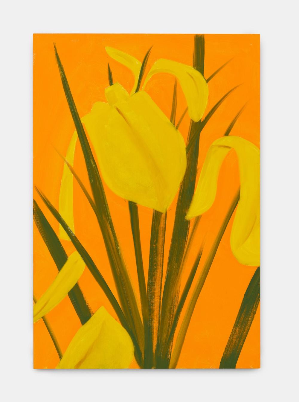Alex Katz Yellow Flags | FRANK FLUEGEL GALERIE