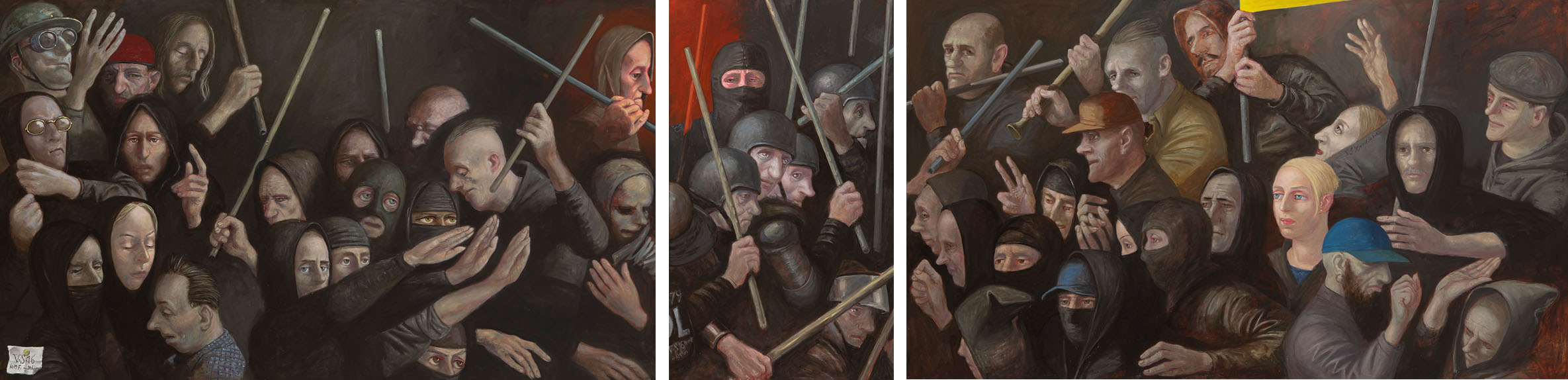 Das Treffen (Triptychon), 2016
