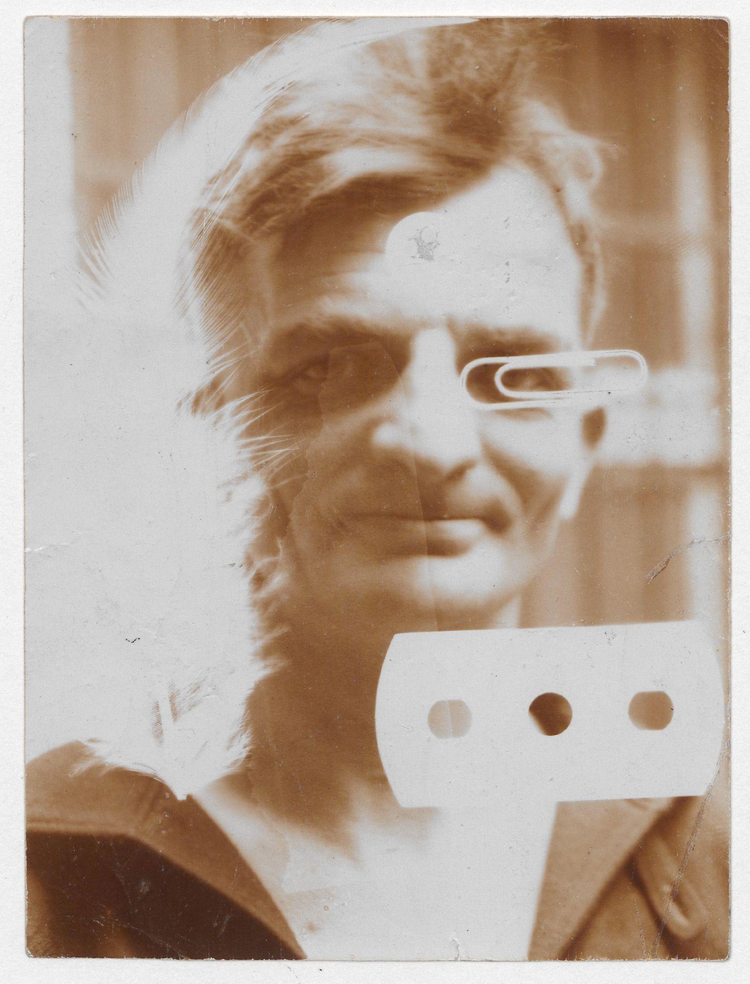 UMBO: Porträt Joachim Ringelnatz, um 1928. Kollodiumpapier. Sprengel Museum Hannover. Leihgabe Fritz-Behrens-Stiftung, Hannover 2016. Repro: Herling/Werner/Sprengel Museum Hannover. Copyright: Phyllis Umbehr/Galerie Kicken Berlin/ VG Bild-Kunst, Bonn 2019.