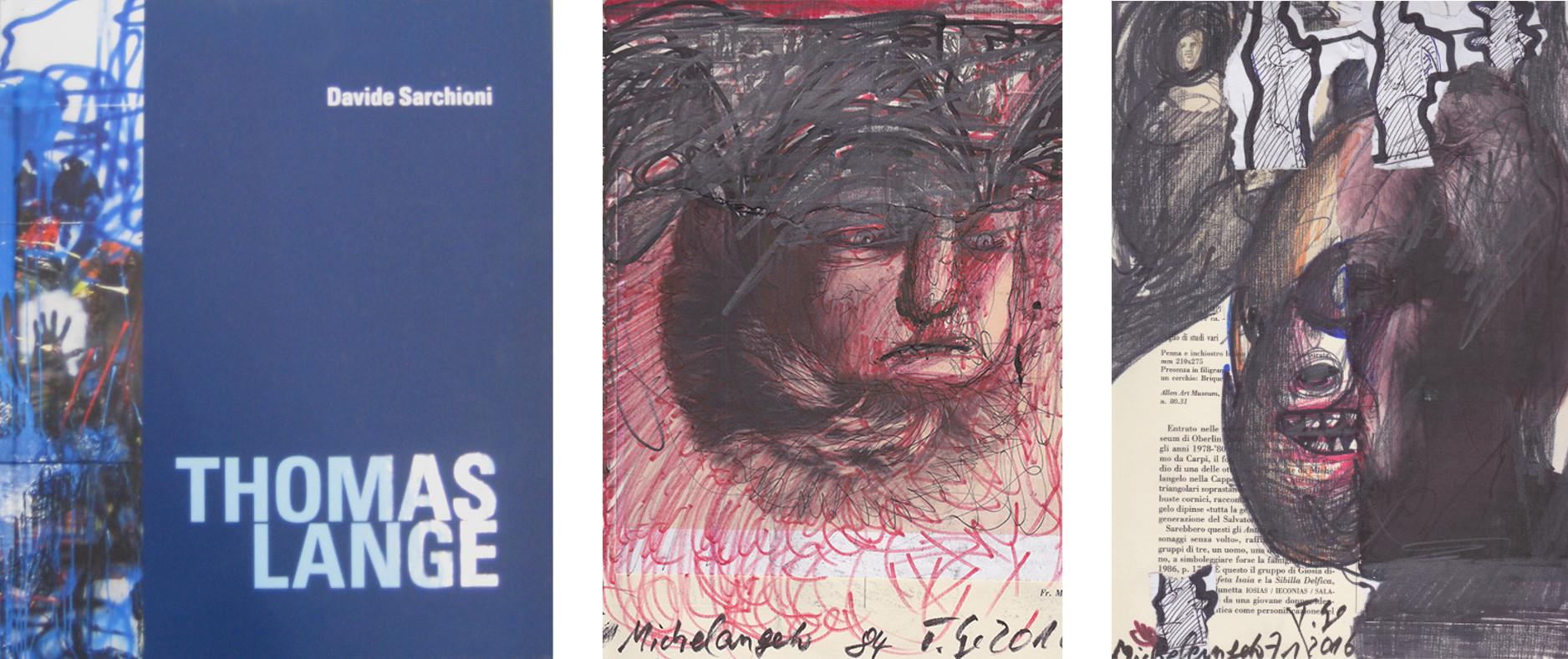 Michelangelo, 1984/2016; Michelangelo, 1971/2016, Mischtechnik/Papier