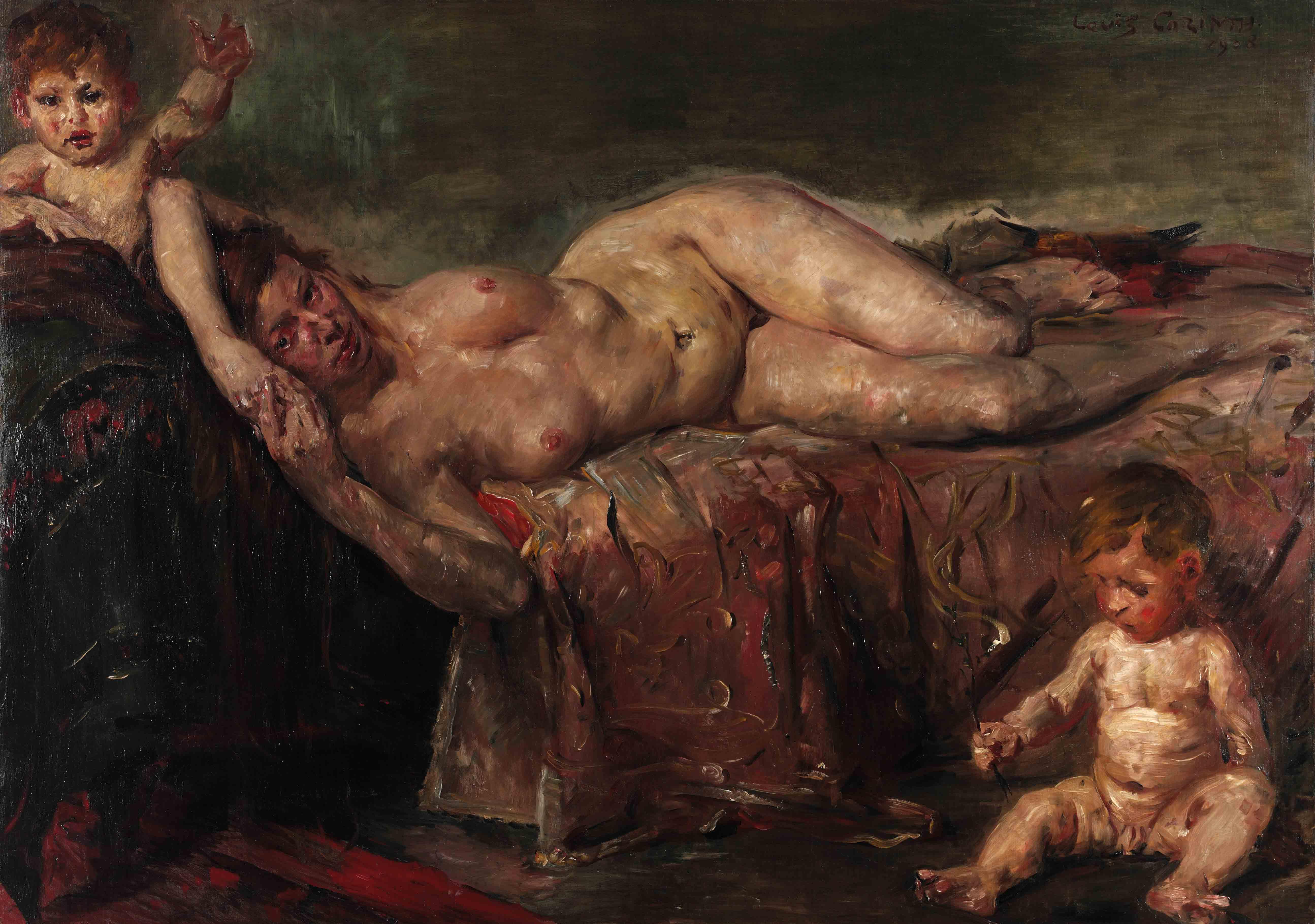 Lovis Corinth: Die Nacktheit, 1908. Copyright Landesmuseum Hannover.
