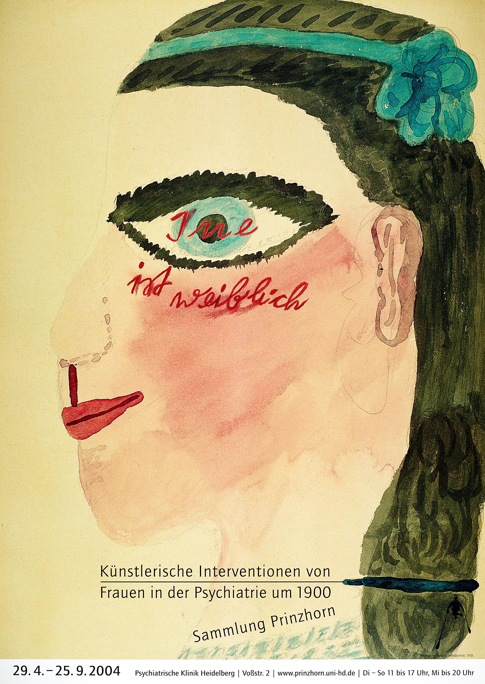 Emil Siemeister. Irre ist weiblich ... Sammlung Prinzhorn, 2004. Heidelberg, 2004. © Emil Siemeister, Museum Folkwang, Essen