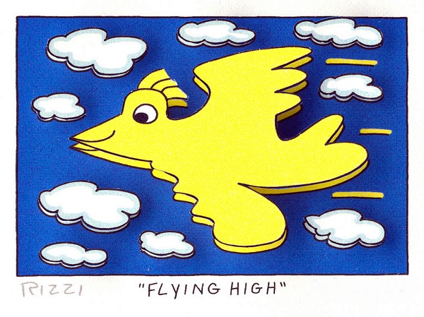 James Rizzi: Flying High
