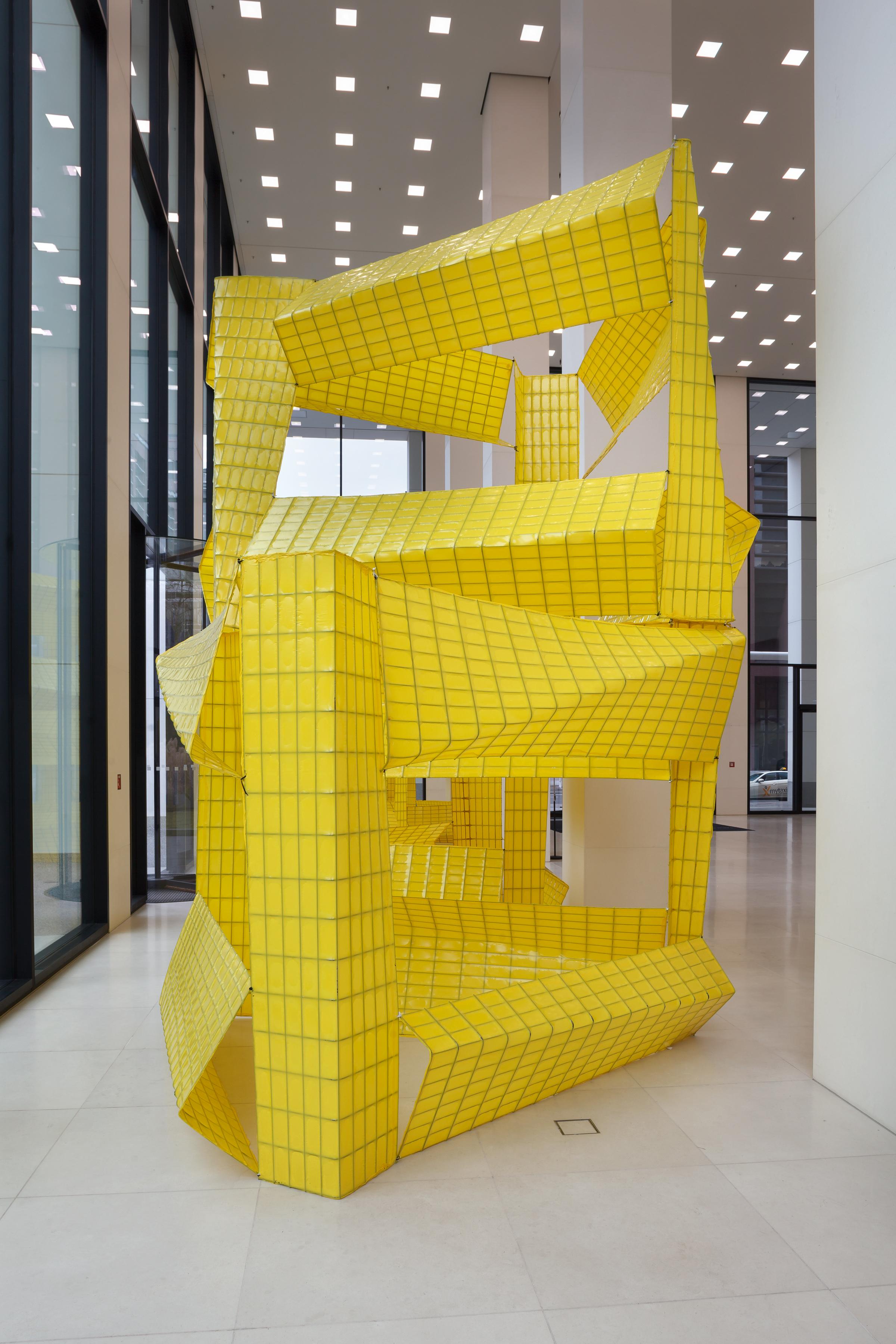 Ausstellungsansicht/exhibition view MMK Museum für Moderne Kunst Frankfurt am Main, Courtesy Michael Beutler, Foto/photo: Axel Schneider