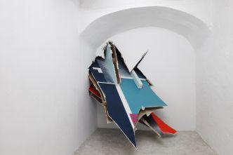 Felix Schramm, Duo, Fondazione Volume, Rom, 2016, Foto: Knut Kruppa, © Felix Schramm