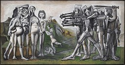 Pablo Picasso Massaker in Korea, 1951 © Succession Picasso/VG Bild-Kunst, Bonn 2020 Foto: © RMN-Grand Palais / Mathieu Rabeau