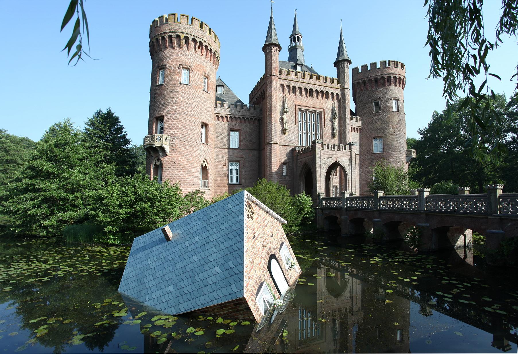 Tea Mäkipää & Halldór Úlfarsson, Atlantis, 2007 (2017). Installationsansicht im Museum Schloss Moyland. Foto: Stiftung Museum Schloss Moyland/Maurice Dorren