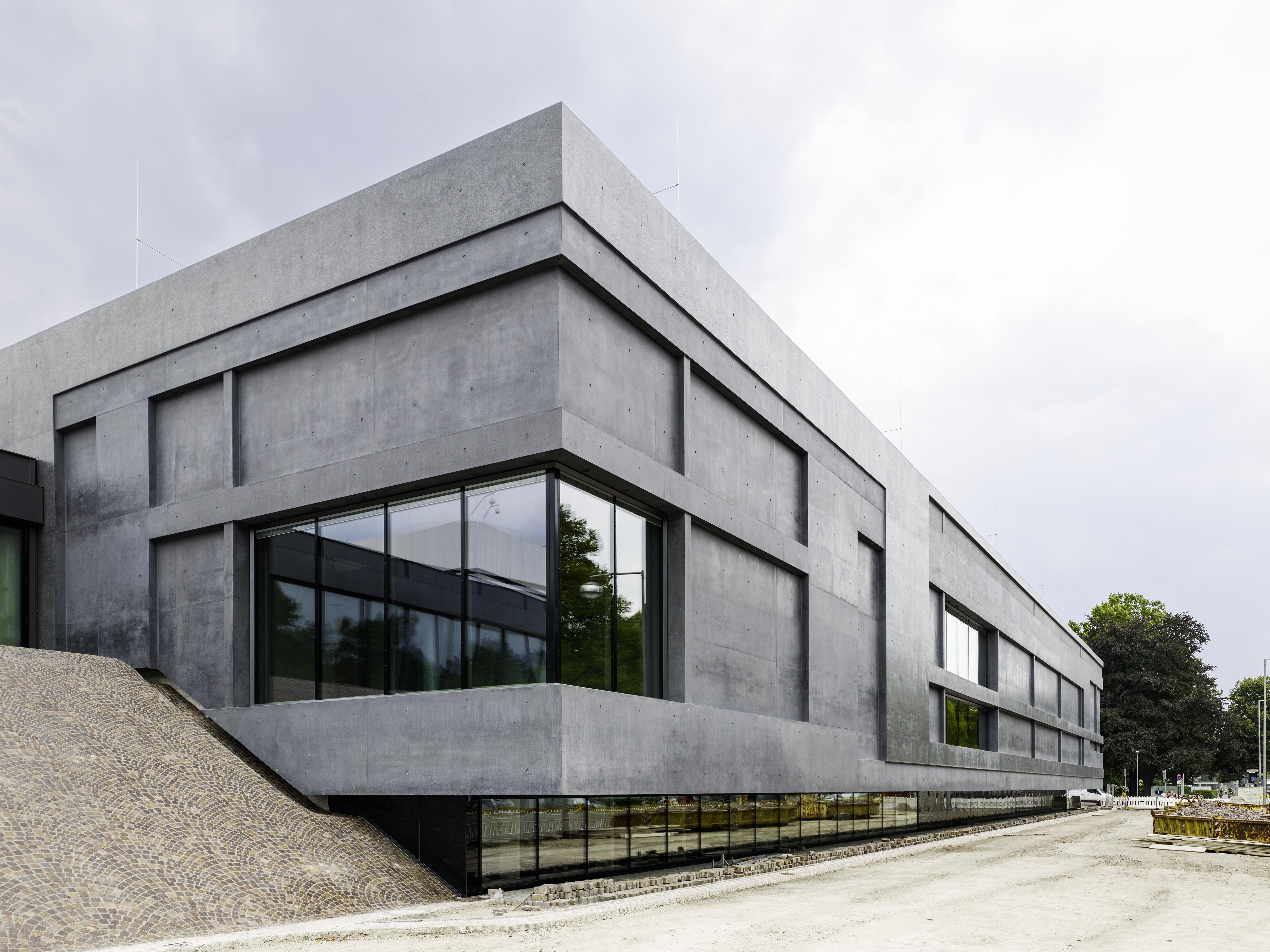 Erweiterungsbau des Sprengel Museums Hannover, Außenansicht. Foto: Sprengel Museum Hannover, Georg Aerni.