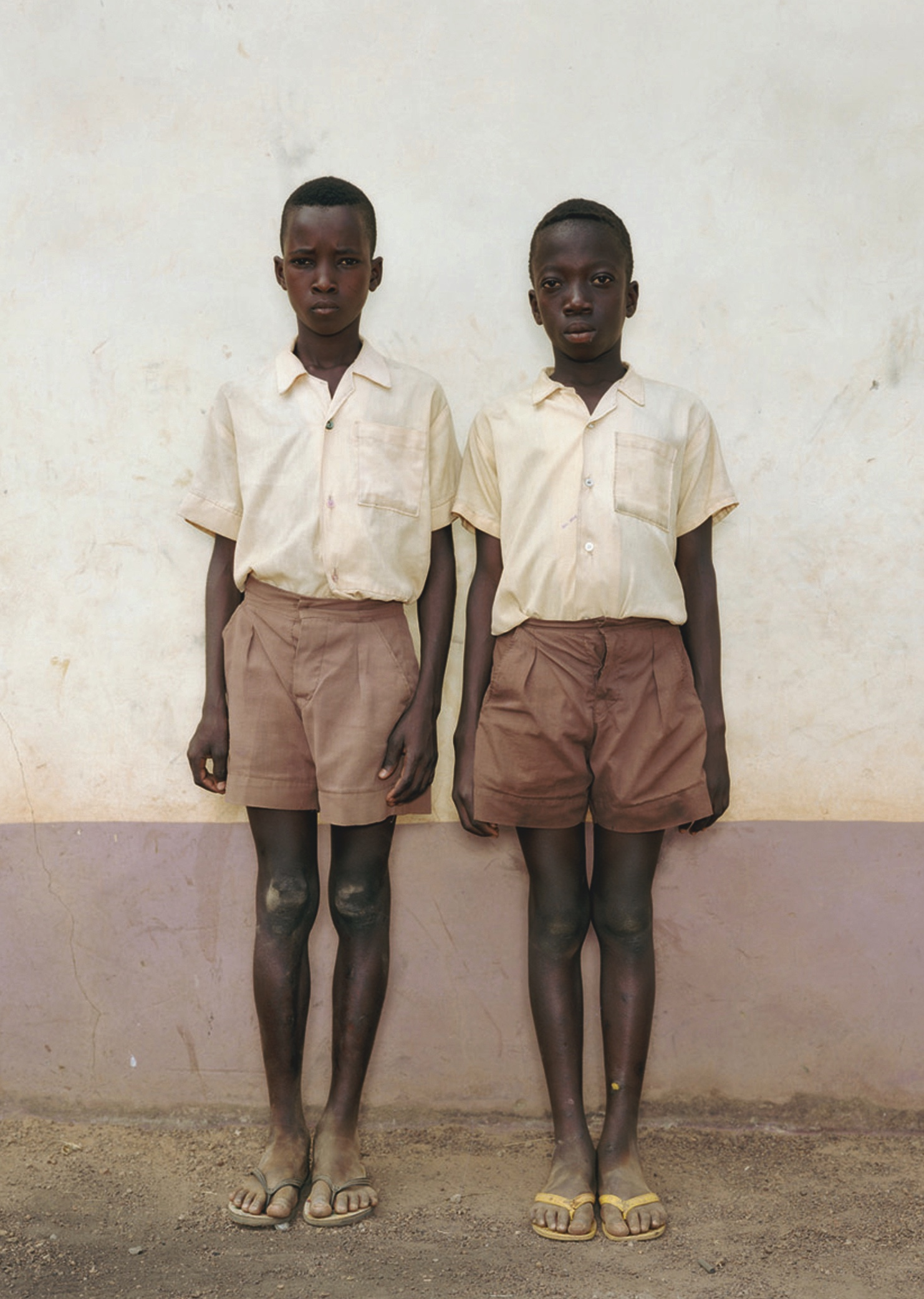 Rineke Dijkstra: Tamale, Ghana, 5 March, 1996, Courtesy Marian Goodman Gallery, Paris and Galerie Max Hetzler, Berlin.