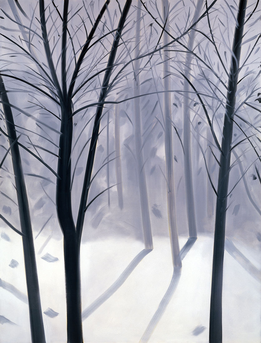 Alex Katz, January Snow, 1993, Museum Frieder Burda, ©VG Bild-Kunst, Bonn 2016