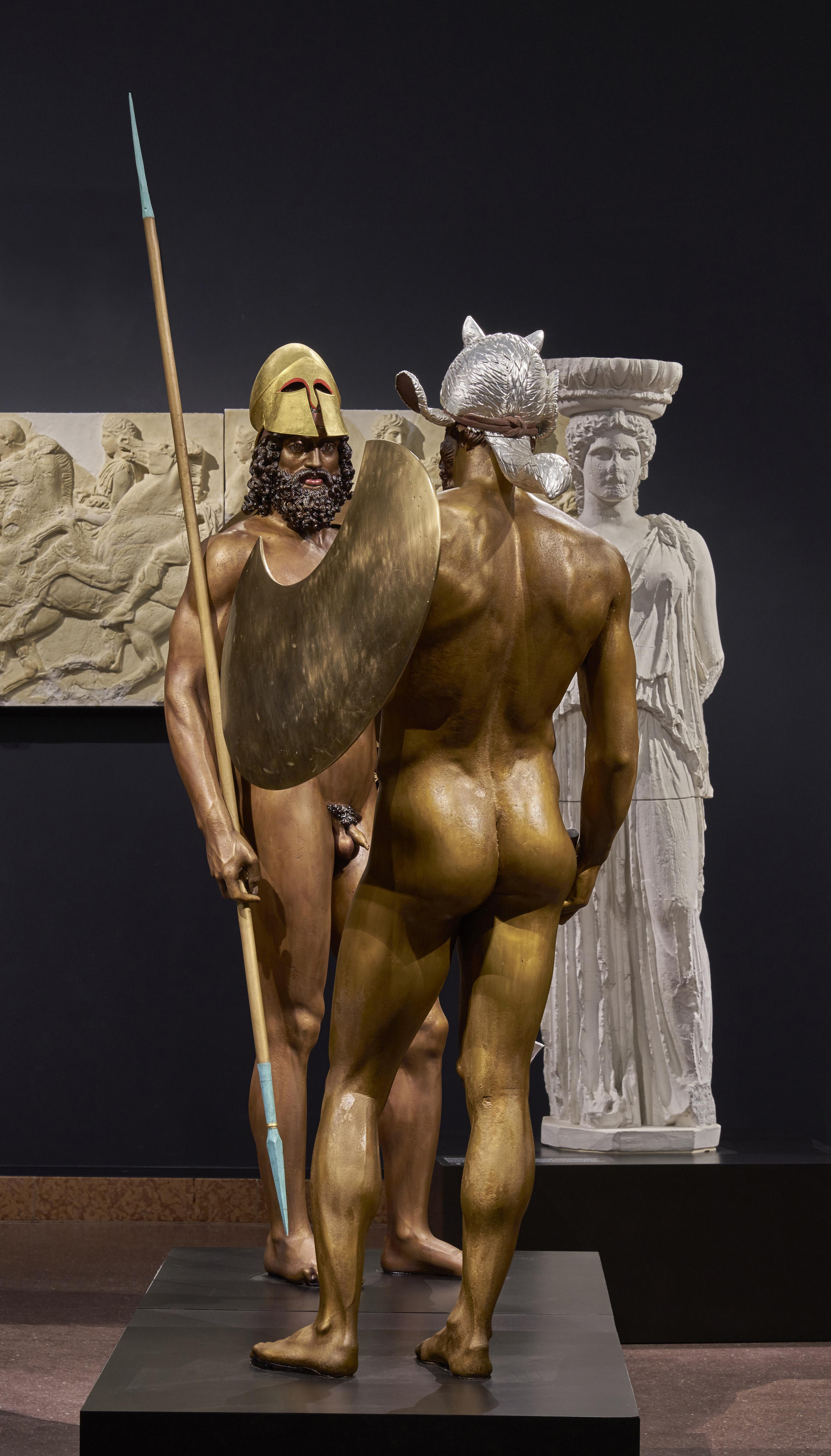 Ausstellungsansicht 'Athen. Triumph der Bilder'. Foto: Liebieghaus Skulpturensammlung
