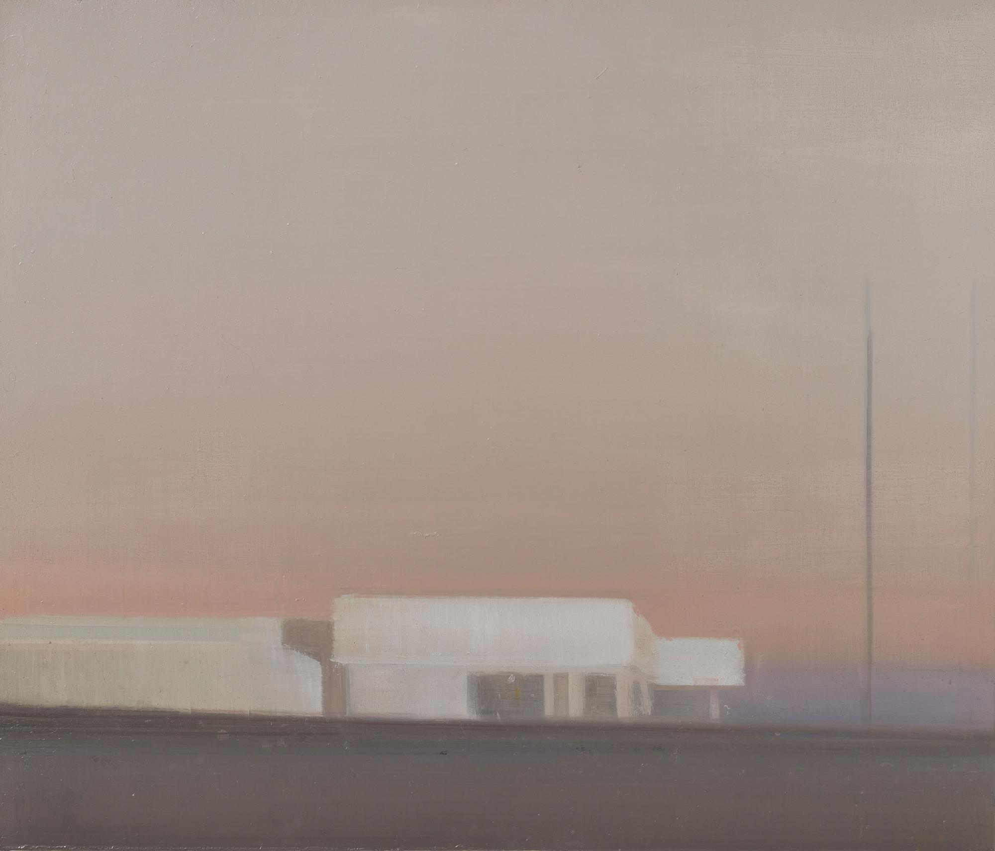 Eric Keller - Schönbach, 2021,Öl auf Holz, 55 x 65 cm, Foto: Baldauf & Baldauf