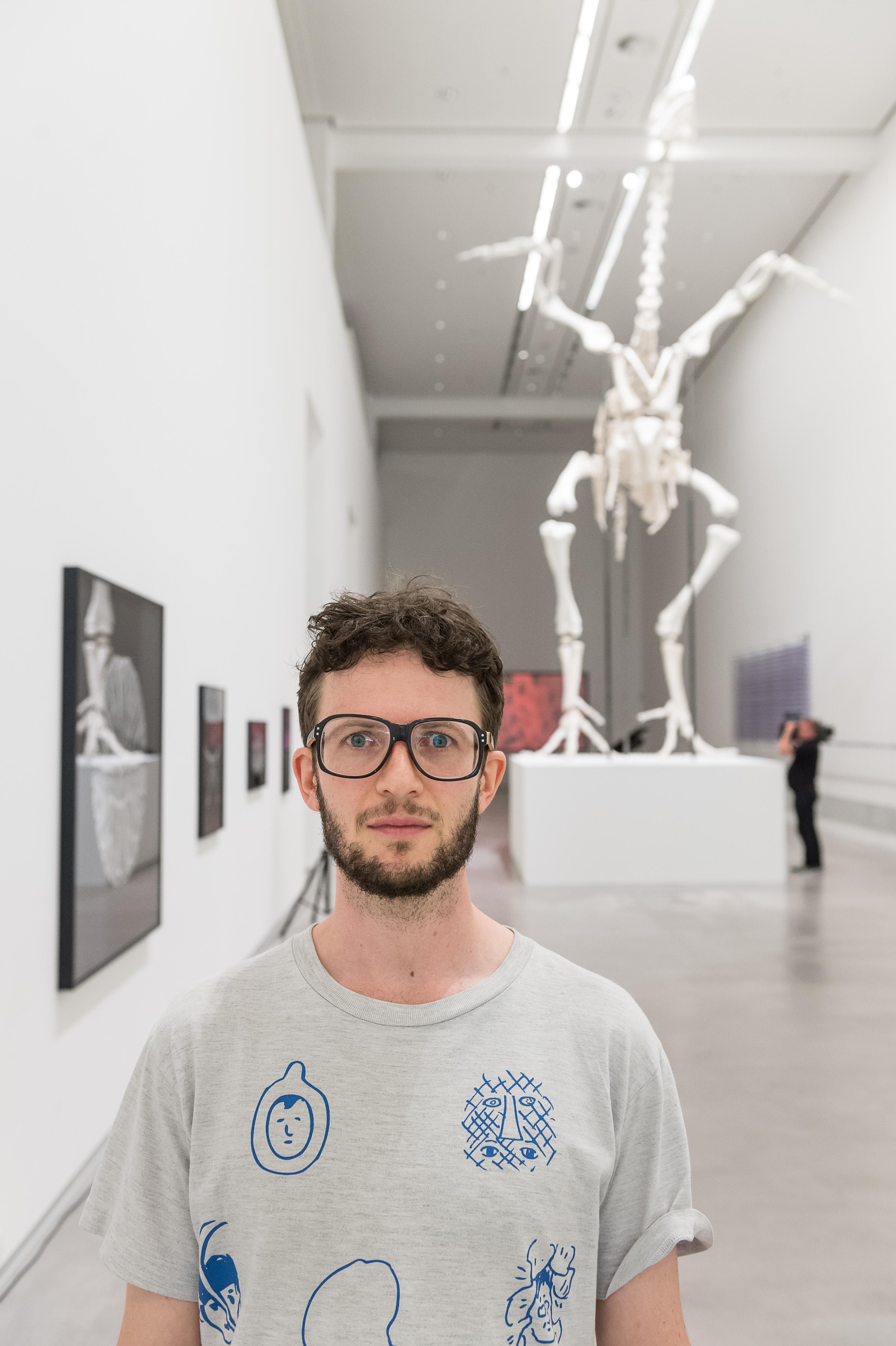 Andreas Greiner, Berlinische Galerie 2016, © Andreas Greiner, Foto: Harry Schnitger