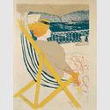Henri de Toulouse-Lautrec (1864–1901): La Passagère du 54 – Promenade en yacht, 1896. Lithografie in sechs Farben (2. Zustand), 61 x 44,7 cm. Städel Museum, Frankfurt am Main. Foto: Städel Museum – ARTOTHEK