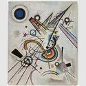 Wassily Kandinsky: Diagonale, 1923. Sprengel Museum Hannover. Leihgabe Niedersächsisches Landesmuseum, Schenkung Dr. Bode, 1971. Foto: Sprengel Museum Hannover, Herling/Herling/Werner, gemeinfrei.