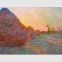 Claude Monet: Getreideschober, 1890, Öl auf Leinwand, 73 x 92,5 cm, Sammlung Hasso Plattner