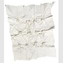 Knüpfung, Acryl und Korken auf Leinwand, 140,0 x 115,0 cm (© e.artis contemporary)