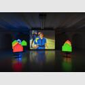 Installationsansicht Ericka Beckman, Fair Game, Foto: Raimund Zakowski