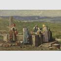Vorabend des Kirchweihfestes, 1893, Öl auf Leinwand, 134,5 x 200 cm, © Bayerische Staatsgemäldesammlungen, Neue Pinakothek, München