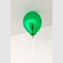 Abb.: Jeppe Hein, Green Mirror Balloon (dark), 2017  Courtesy the artist, KÖNIG GALERIE, Berlin, London,  Tokyo, 303 GALLERY, New York, and Galleri Nicolai Wallner, Copenhagen  © Studio Jeppe Hein/Florian Neufeldt