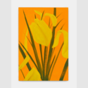 Alex Katz Yellow Flags | FRANK FLUEGEL GALERIE