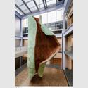 Katinka Bock: Rauschen, 2019. copper, bronze, ceramics. 700 x 400 x 250 cm. Courtesy the artist, Meyer Riegger Berlin/Karlsruhe,.Jocelyn Wollf, Paris, Greta Meert, Brussels