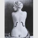 Man Ray, Le Violon d'Ingres, 1924, Silbergelatine Reprint, Griffelkunst © Man Ray Trust Paris/VG Bild-Kunst, Bonn 2018