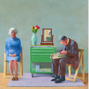 David Hockney: My Parents, 1977, Tate, London. © David Hockney, © Foto: Tate, London 2020.